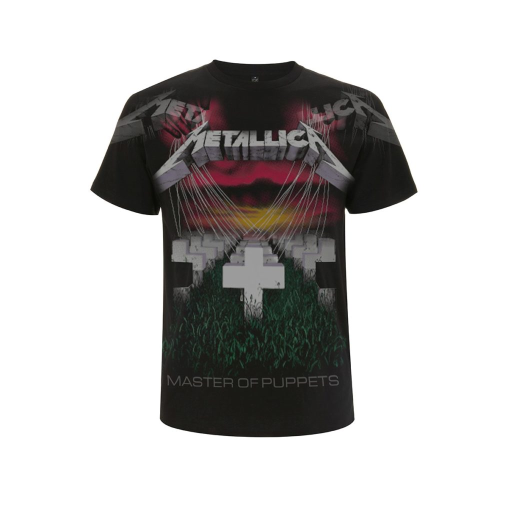 RTMTLTSBPUP-METALLICA-PUPPETS FADED BLACK T (FRONT)