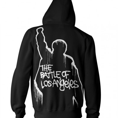 RTRAMZHBBAT-RATM-BATTLE OF LOS ANGELES BLACK ZIP HOOD (BACK)