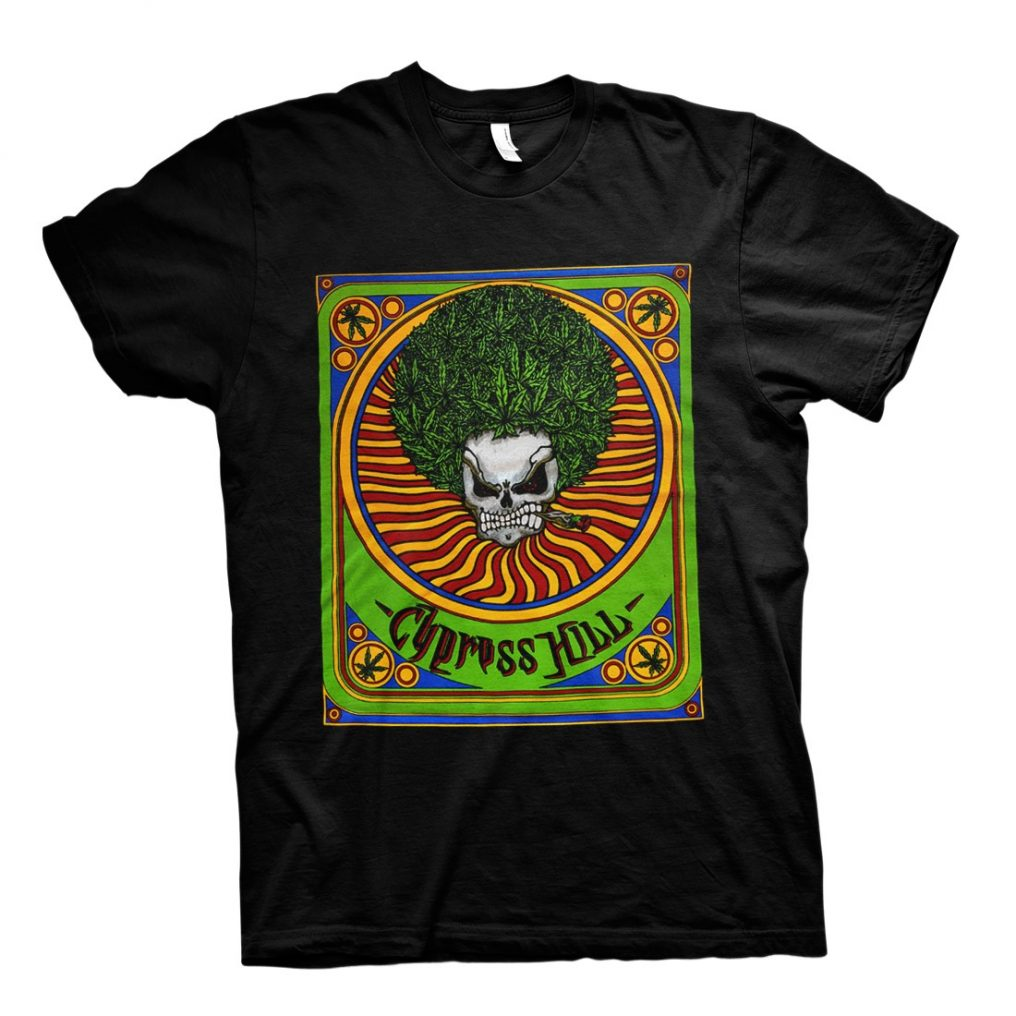 RTCPHTSBTIN - CYPRESS HILL-TIN STASH BLACK T
