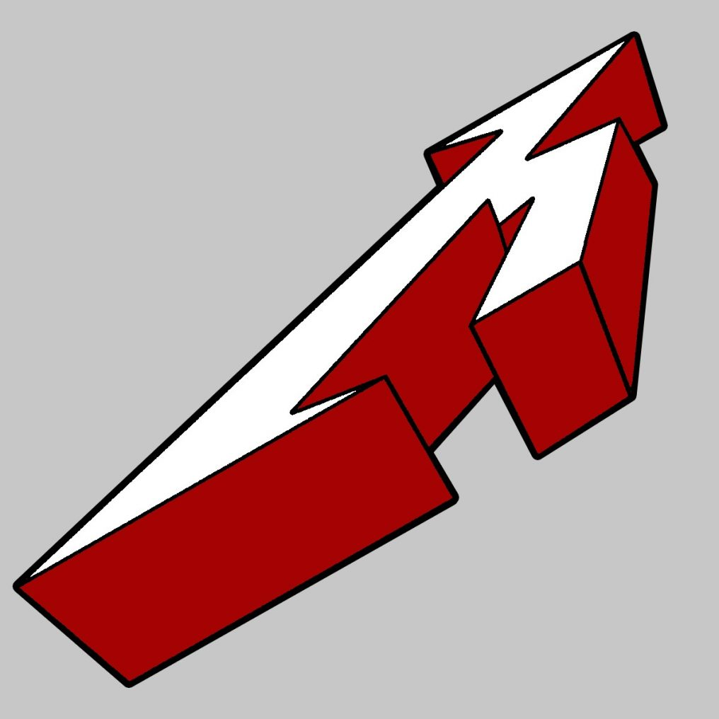RTMTLBADG3DM - Metallica-3D M-Enamel Badge
