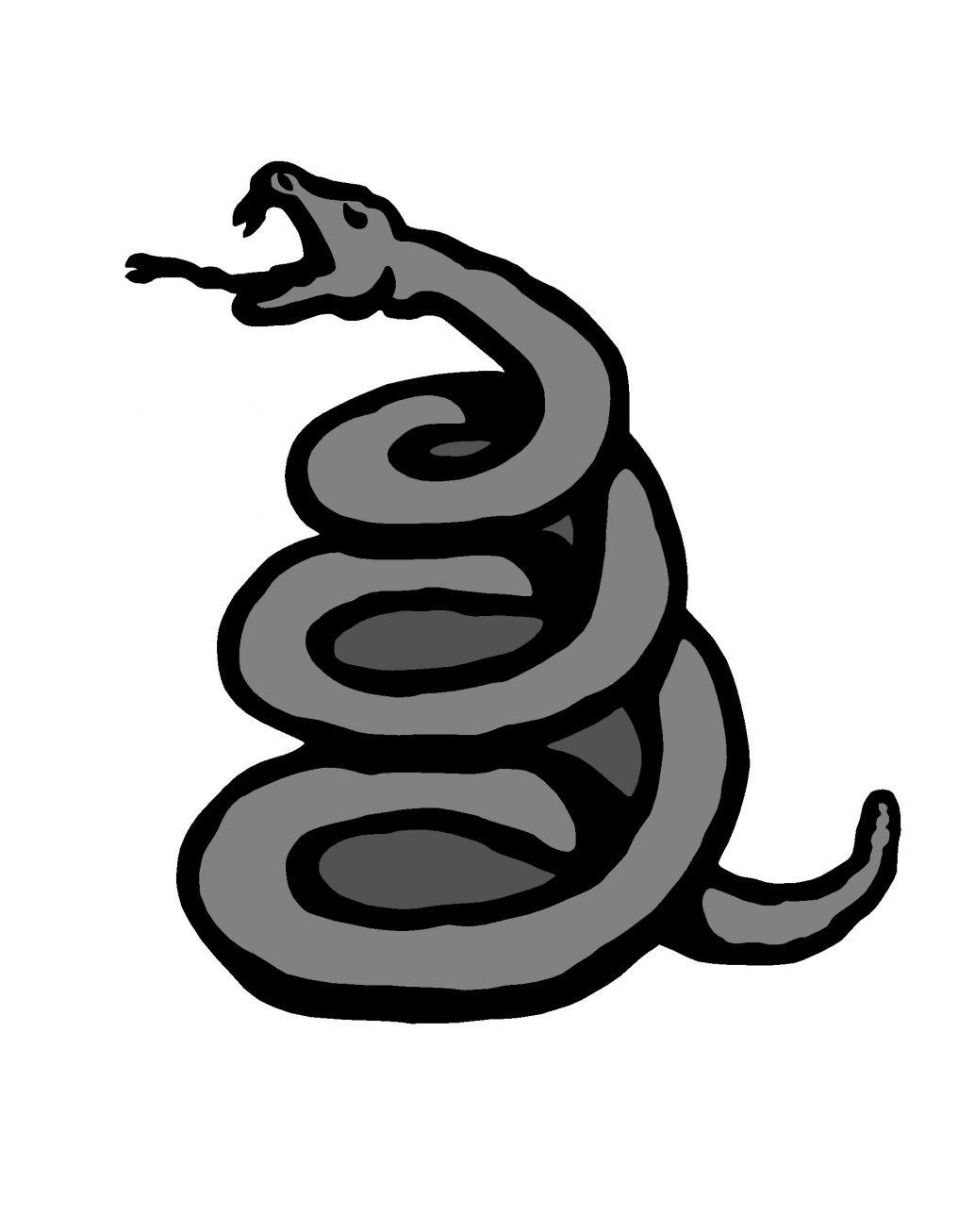 RTMTLBADGSNA - Metallica-Snake-Enamel Badge