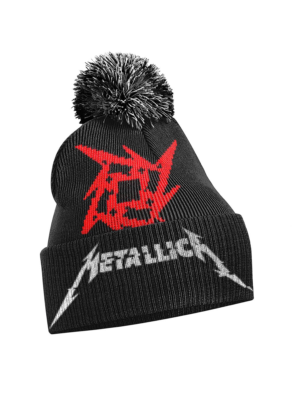 Metallica HW Logo Bobble Hat A4