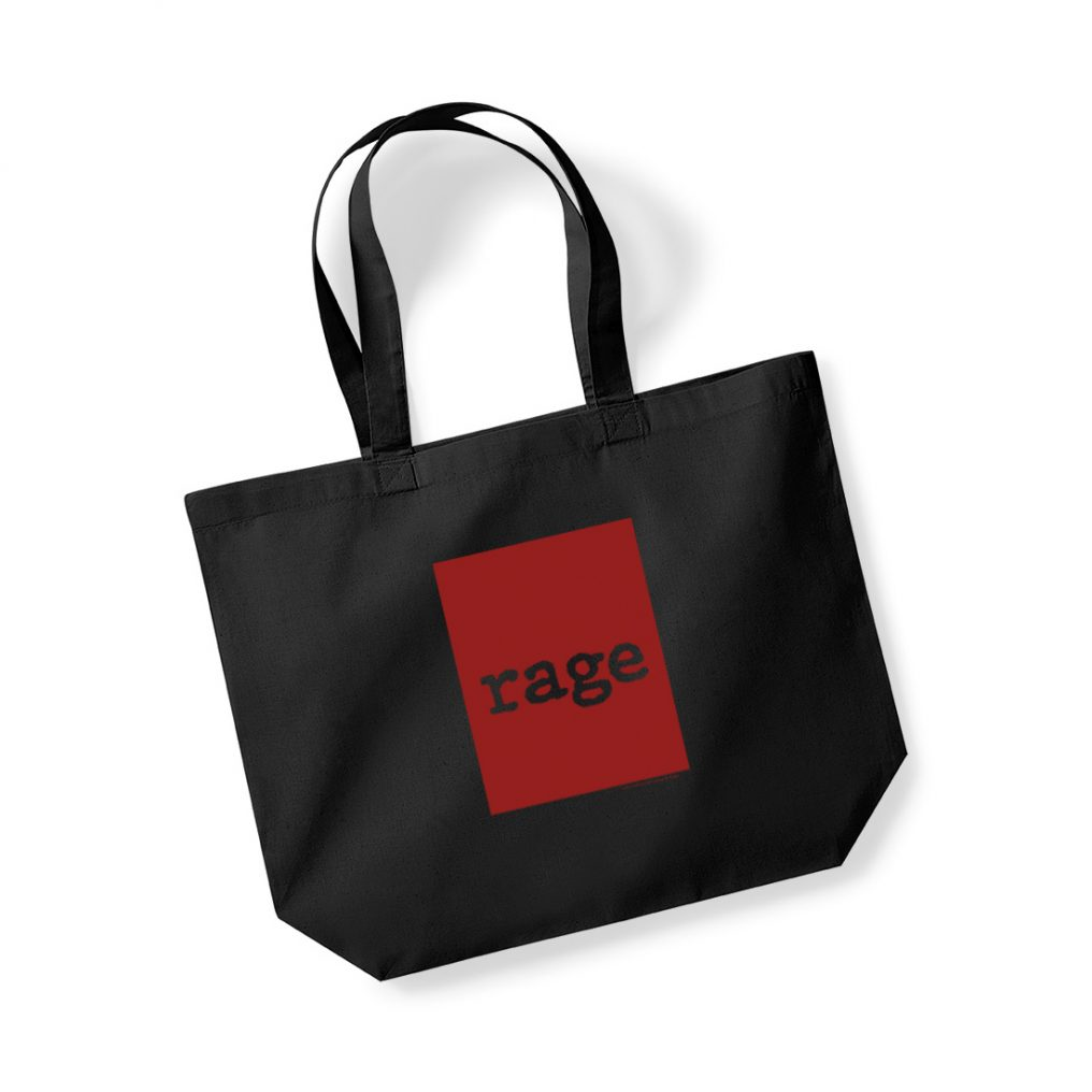 RATM SHOPPING TOTE RED SQUARE - RTRAMTOBRED