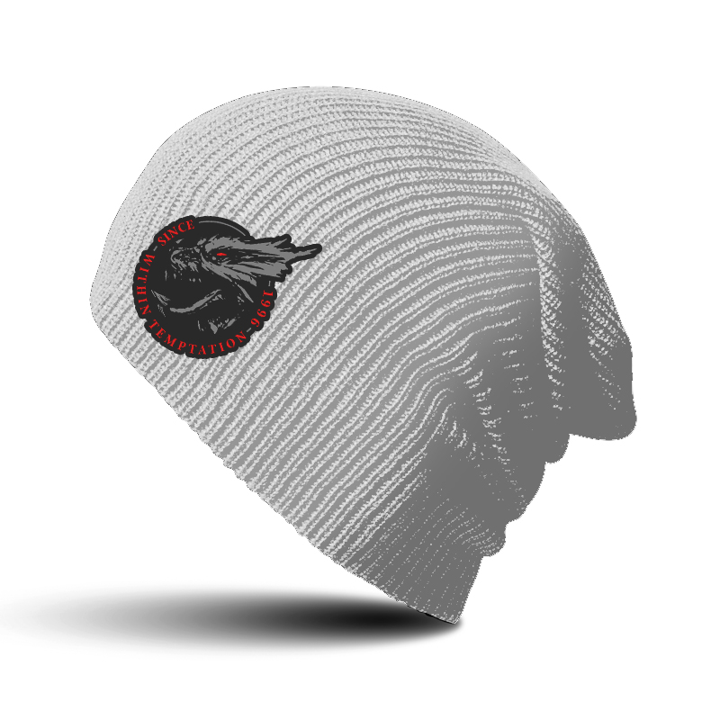 WITHIN TEMPTATION HYDRA BEANIE DOVE GREY RTWTEBEDGHYD