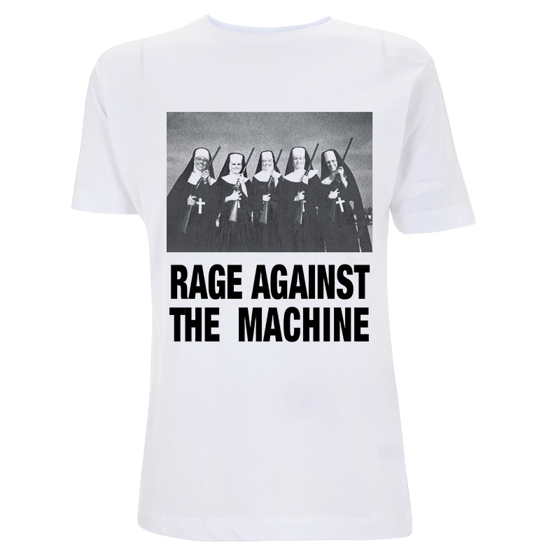 Rage Against the Machine T-shirt Molotov /& Stencil Men/'s Black