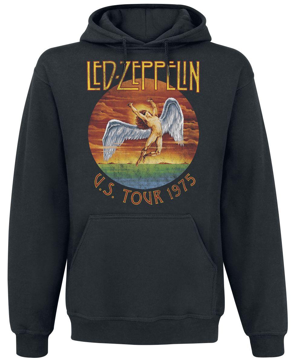 Led Zeppelin-USA Tour 1975-Hooded Top RTLZEHDBUSA