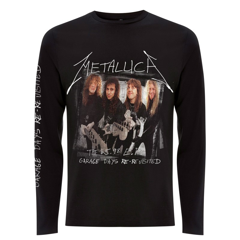 Metallica-Garage Cover-Long Sleeve- F RTMTLLSBGAR