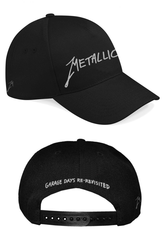 Metallica-Garage Logo Silver-Snap Back Curve-F RTMTLSBCBGAR