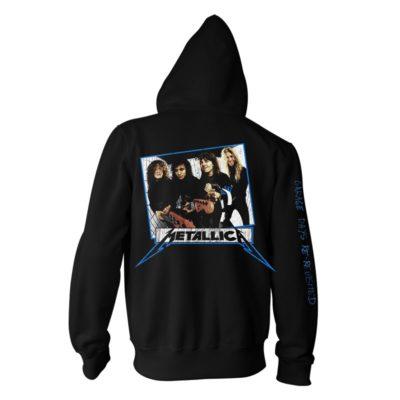 Metallica-Garage OG-Zip Hood-B RTMTLZHBGAR
