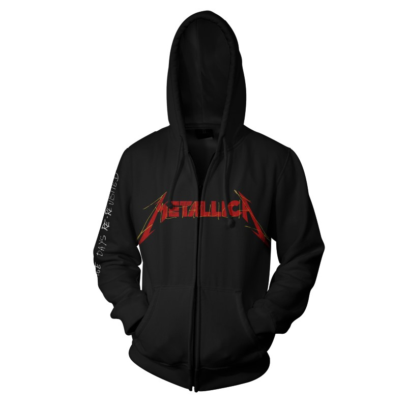 Metallica-Garage Photo Yellow-Zip Hood-F RTMTLZHBGAR