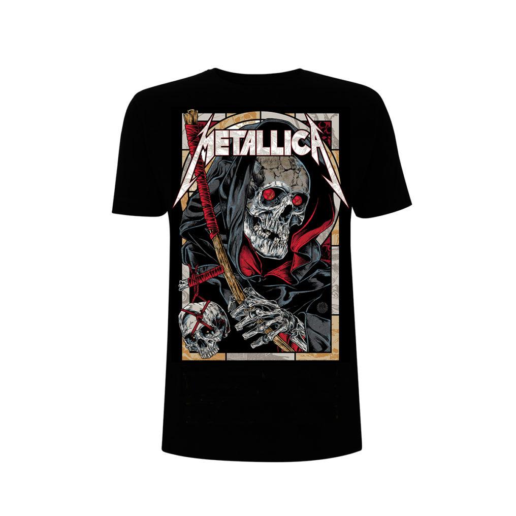 Metallica-Death Reaper Black T RTMTLTSBREA