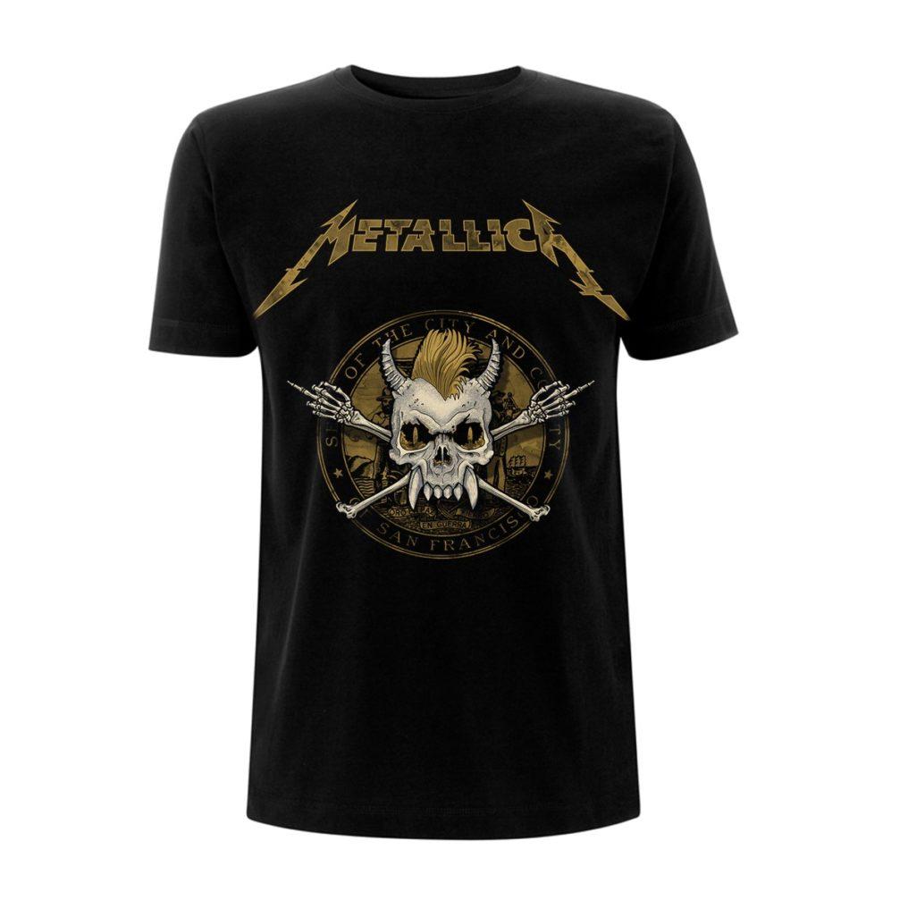 Metallica-Scary Guy Seal Black T RTMTLTSBSEA