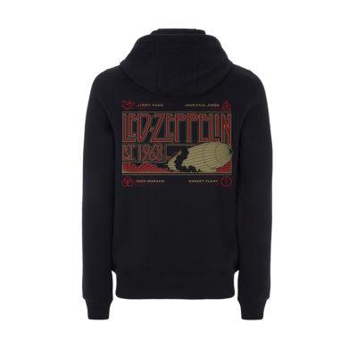 Ledzep Zeppelin & Smoke Hoody BACK RTLZEZHBZEP