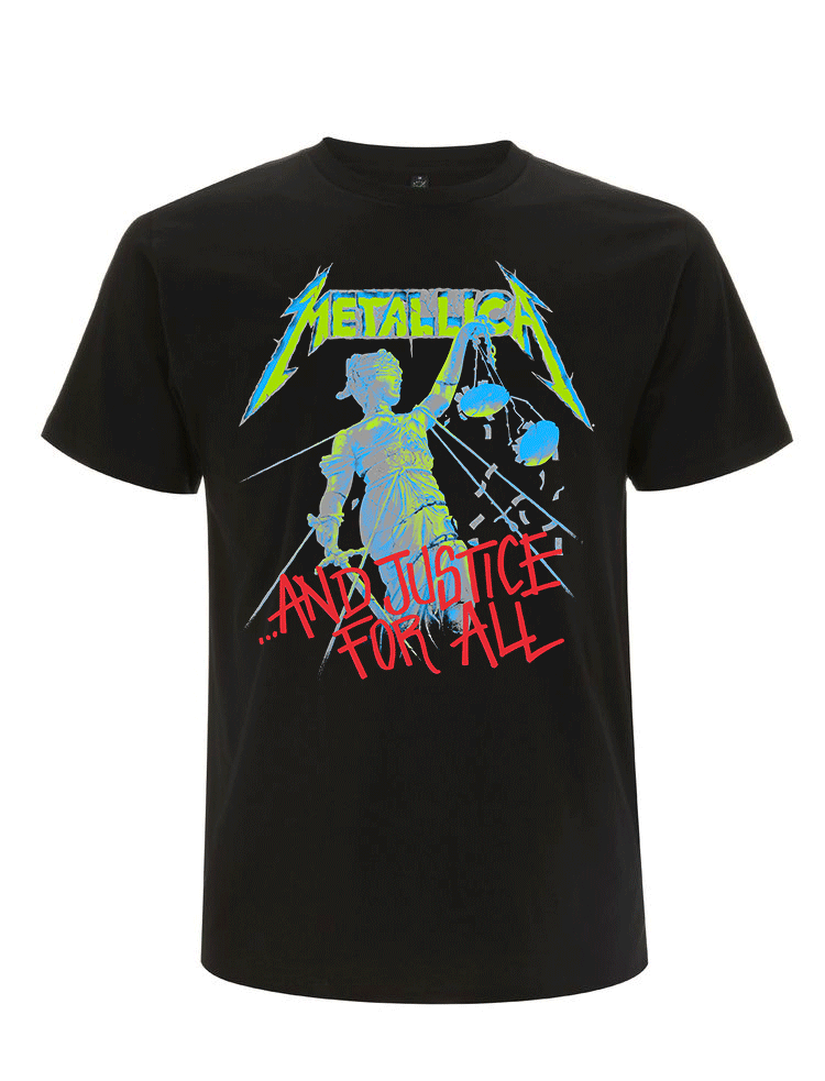 Metallica-And-Justice-For-All ORIGINAL--tee RTMTLTSBAJU - F