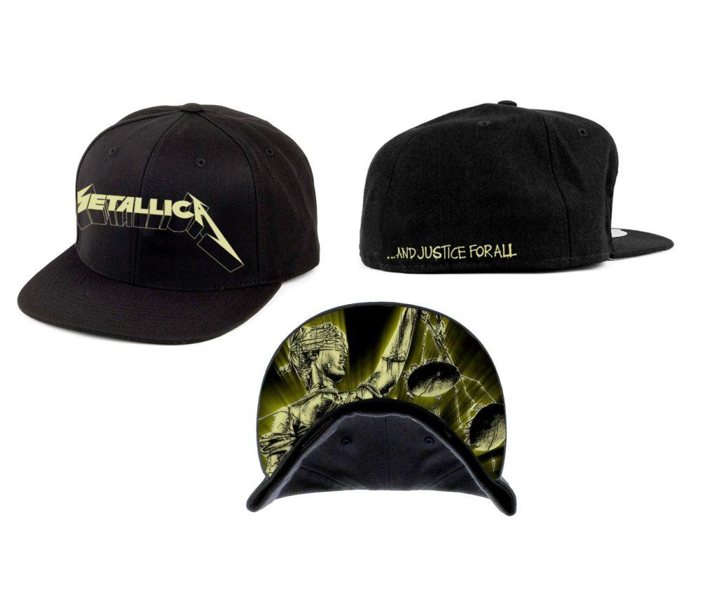 Metallica-Justice Glow-Snapback RTMTLSBCBGLOW
