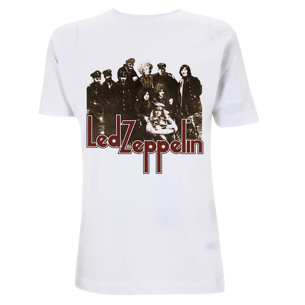 Led Zeppelin - LZ II Photo White T RTLZETSWPHO