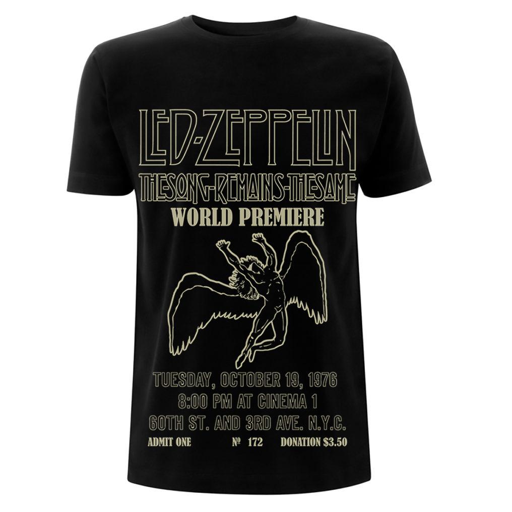 Led Zeppelin - TSRTS World Premiere Black T RTLZETSBWORL