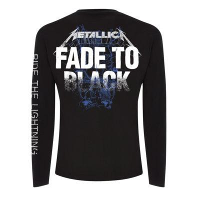 Metallica Fade LS Back MTLLSBFAD