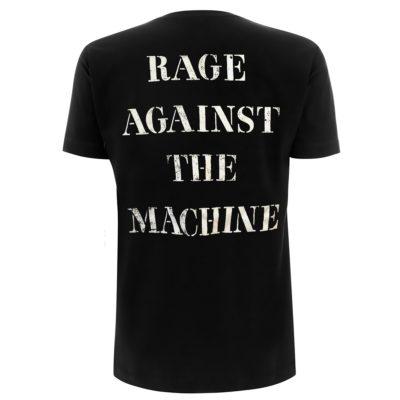 RTRAMTSBSTE RATM Molotov & Stencil Black T - Back