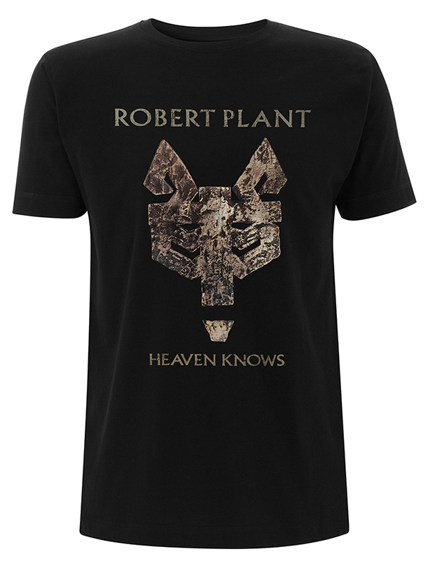 RTRPLTSBHEA - Robert Plant - Heaven Knows Black T