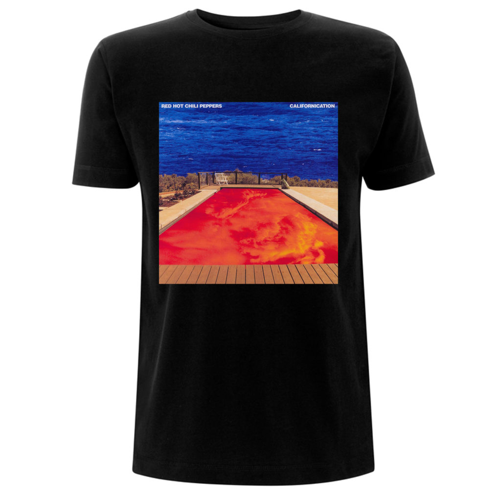 RHCP-Californication Album-Tee RHCTSBCAL