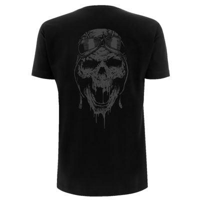 Airbourne Playing Cards Tee Back Visual AIRTSBPLA