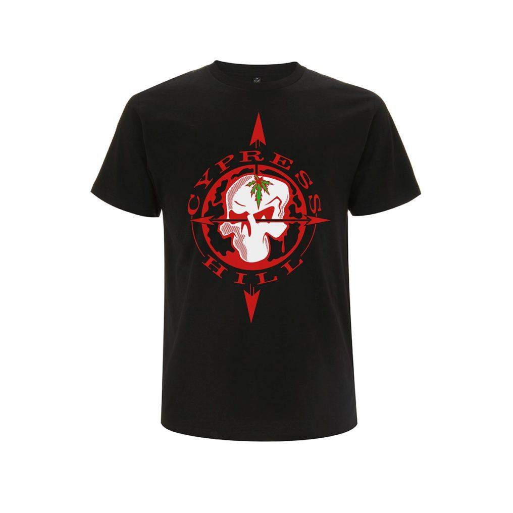 RTCPHTSBCOM - Cypress Hill - Skull Compass Black