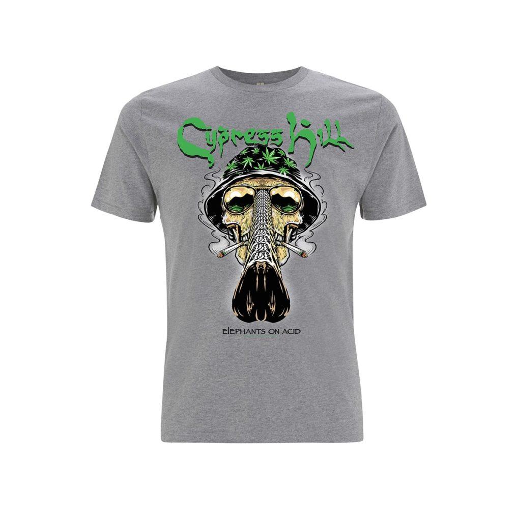 RTCPHTSGBUC - Cypress Hill - Skull Bucket Grey T