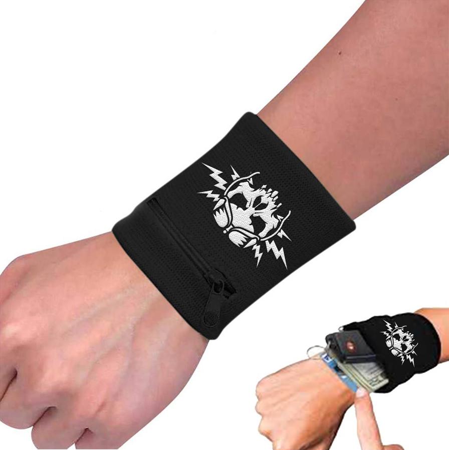 Airbourne-Boneshaker-Zip Wristband- AIRWRISTBBON