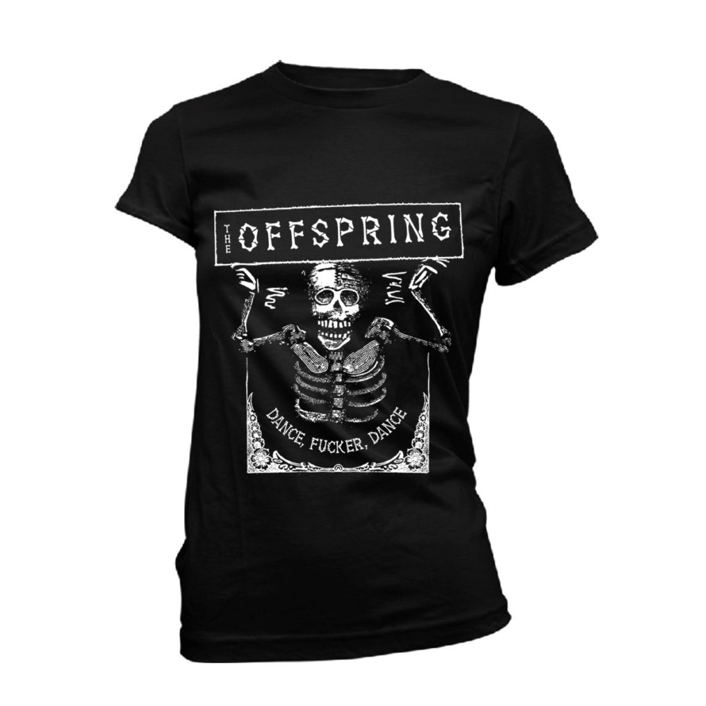 The Offspring Dance Fucker Black Ladies T