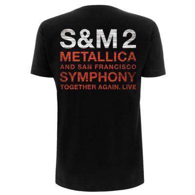 Metallica-S&M2 Scratch Cello-Tee- MCMTLTSBSCR