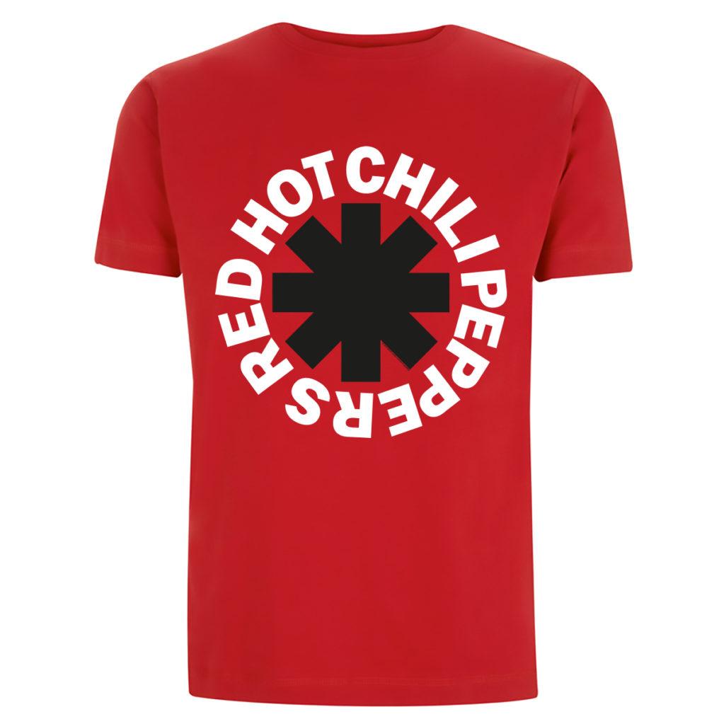 RHCP Classic Logo Mens Front Red Visual EMPRHCTSRCLA